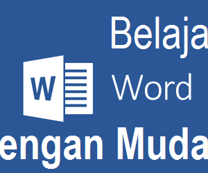 CD Tutorial Bahasa Indonesia Microsoft Word