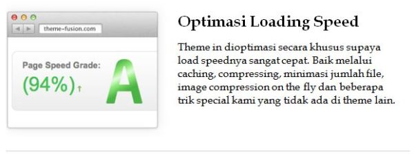 optimasi loading speed