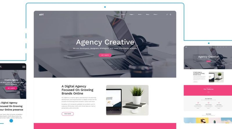 theme wordpress template gratis