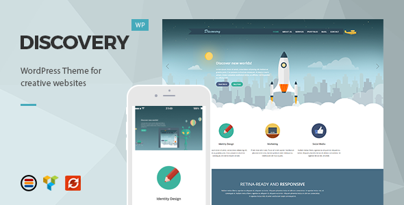 Discovery-wordpress-theme-buat-bisnis